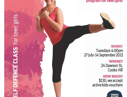 Self Defence for Teen Girls – Term 3